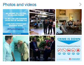 David Cameron - Crime and Meetings