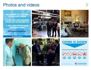 David Cameron - Crime and Meetings