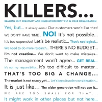 Three Ways Organisations Kill Ideas (And How You Can Remove Them)