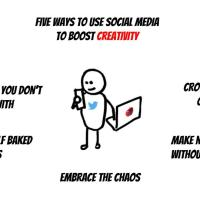 Five Ways Social Media Can Inspire Creativity