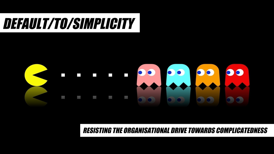 Moving Away From The Reactive Organisation