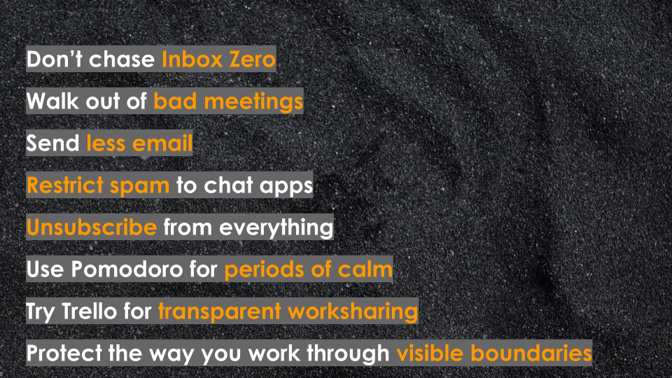 The Fruitless Quest For Inbox Zero: Eight Tips To Protect Your Time