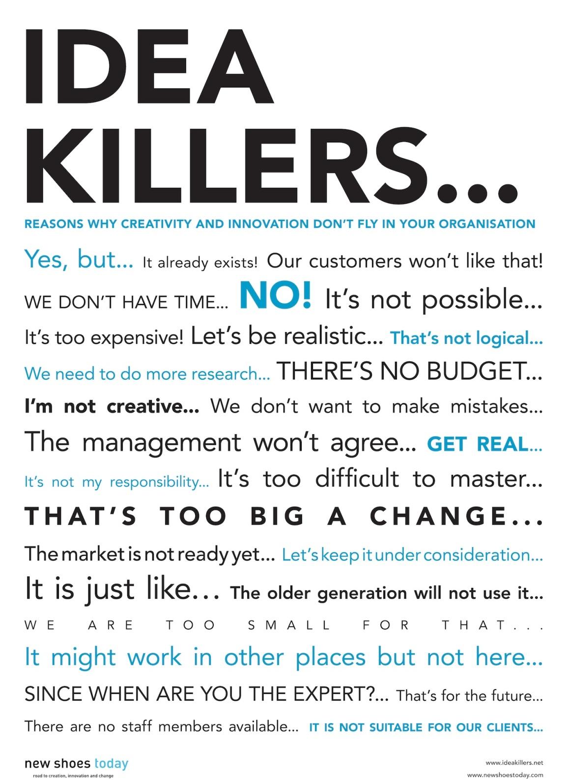 How To Kill Ideas (Part53)