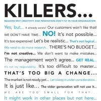 How To Kill Ideas (Part 53)