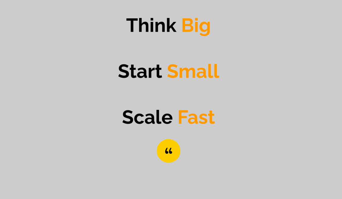 Moving From 'Big Change That Rarely Happens' To 'Small Change That AlwaysDoes'